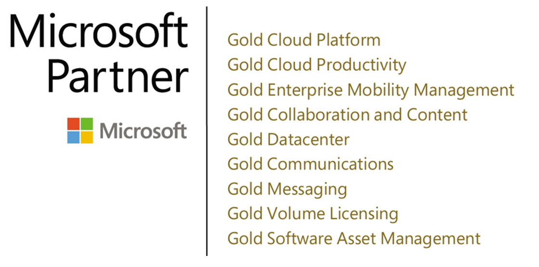 Logotipo Microsoft Partner