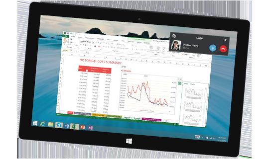 Dispositivo Windows con Skype for Business