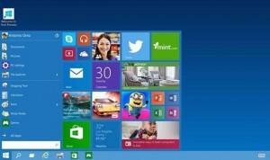 Microsoft Windows 10 Start menu