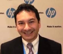 Carlos Meza gerente de producto HP