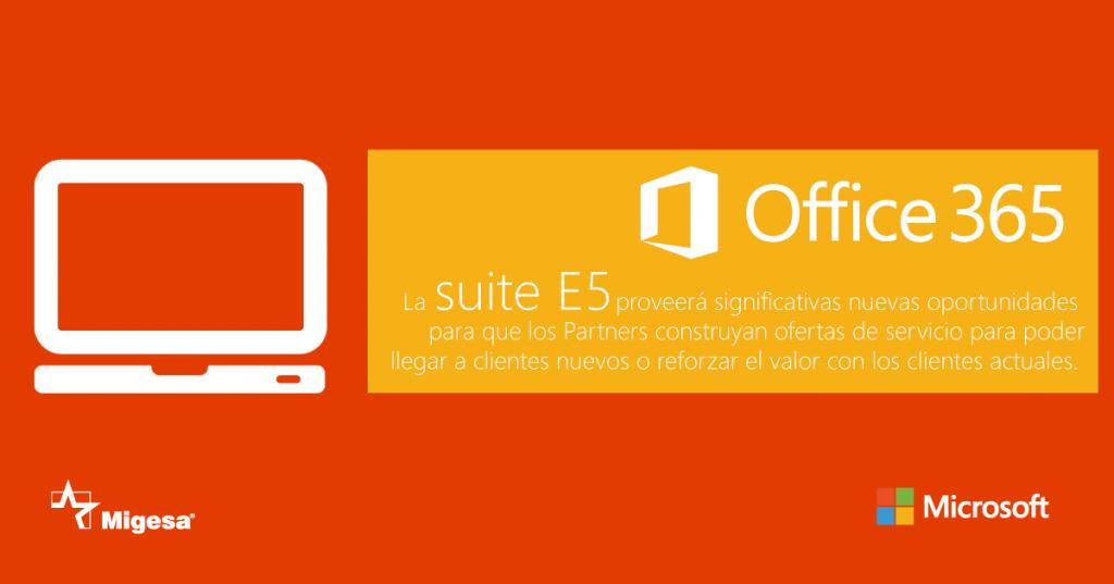Office 365 suite E5 imagen