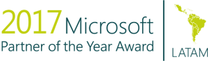 Logo Microsoft Partner of the Year Award 2017